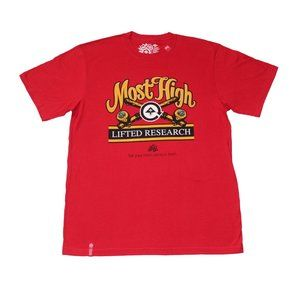 LRG Most High Tee Red